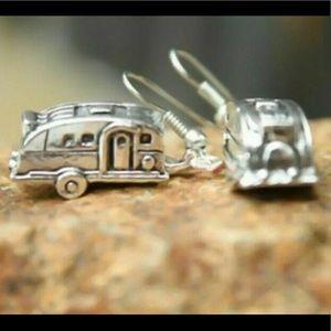 Camper Trailer Earrings